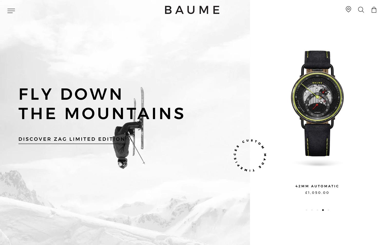 Baume - Ecommerce Awards